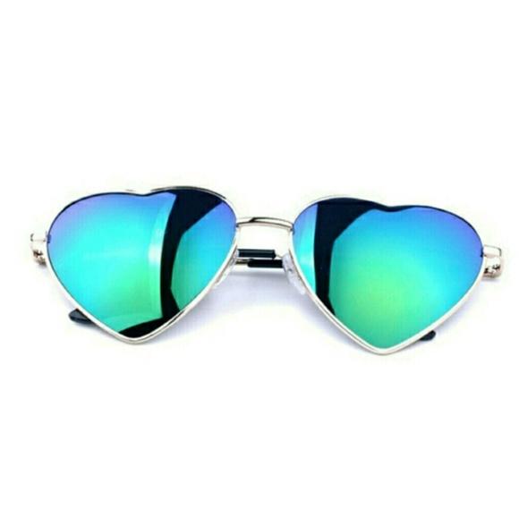 be133e532d57 Heart Shaped Festival Sunglasses NWT!