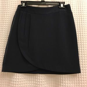 Navy Banana Republic mini skirt
