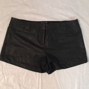 Forever 21 Pants - Faux Leather Shorts