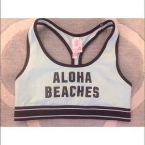 Victoria's Secret Pink Aloha Beaches sports bra M