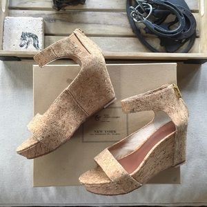 Matt Bernson Shoes - Matt Bernson Cork Wedge Sandal Size 7 Charlie