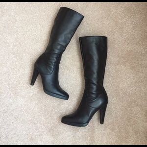 fitzwell Shoes - Black Leather Boots