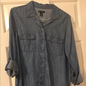 The Best Chambray Top Ever