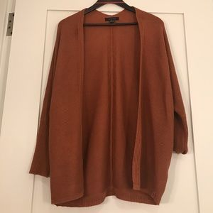 atmosphere Sweaters - BRAND NEW Burnt Orange Women's Poncho Size 8