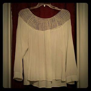 Summer netted top shirt
