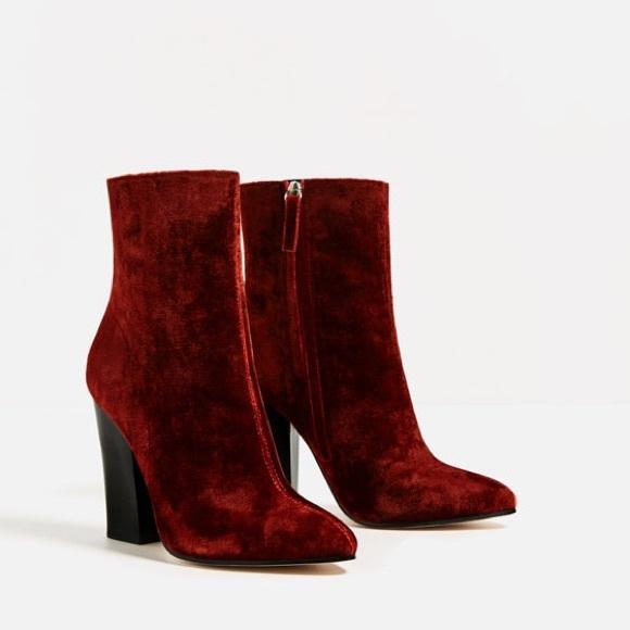 Velvet High Heel Boot zrzwnfM