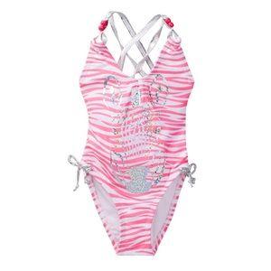 Jantzen Other - Girl's Jantzen Zebra Print One-Pc. Swimsuit
