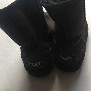 Black toddler UGG BOOTS 10t