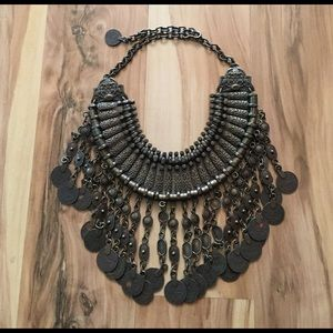 Free People Antalya coin necklace