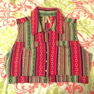 Cool Tapestry Vest