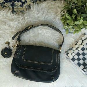 Mango Handbags - MANGO shoulder black purse