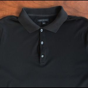 Banana Republic Other - Banana Republic Luxe Touch Black Polo Size Large