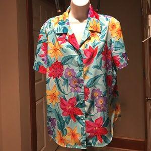 QVC Susan Graver blouse