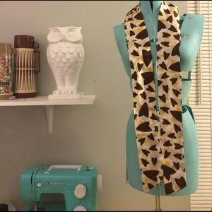 Vintage scarf - retro pattern!