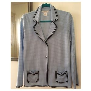 Misook Sweaters - Exclusively Misook Light Blue Women Cardigan Small