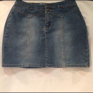JILL STUART Denim Mini Skirt
