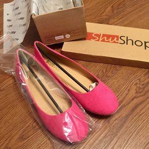 ShuShop Shoes - BRAND NEW 💓 sz 8 Fuchsia Flats