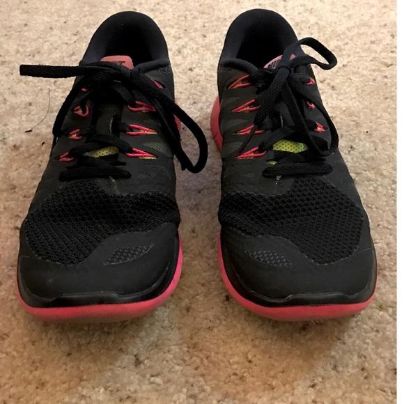 0fc2a3526aa8 Nike Shoes - Nike Free 5.0 Black Neon Yellow Hot Pink