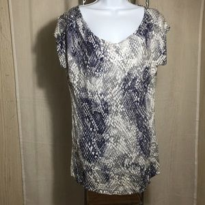 a.n.a Tops - A.n.a. Bling Tunic Size Petite Large