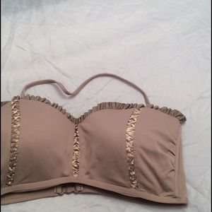 Seafolly Other - Seafolly  nude corset laced bandeau halter