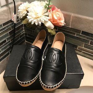 CHANEL Shoes - Beautiful black espadrilles 🙀💗