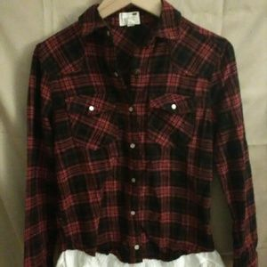 Pacific Sun red and black flannel.