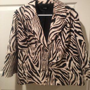 Rafaella Jackets & Blazers - Blazer-casual zebra print