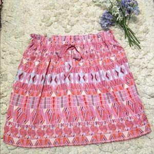 Forever 21 tribal print skirt