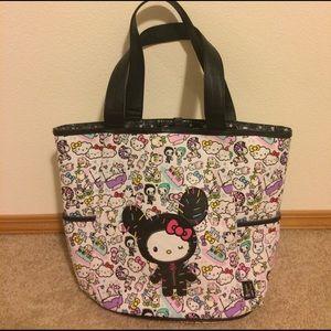 tokidoki Handbags - Tokidoki Hello kitty large tote bag + free gift!