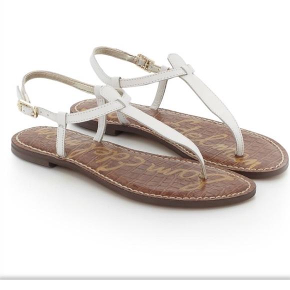de34f8ce748471 Brand New Sam Edelman Gigi White Thong Sandal
