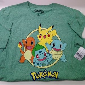 Pokemon Other - NWT Pokémon t-shirt, unisex size M