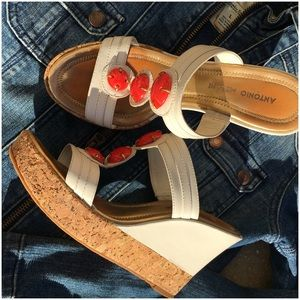 ANTONIO MELANI Shoes - Antonio Melani Cork Wedge Sandal