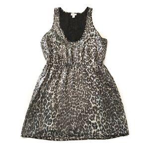 Rodarte Dresses & Skirts - Leopard Print Sleeveless Sequin Dress H1
