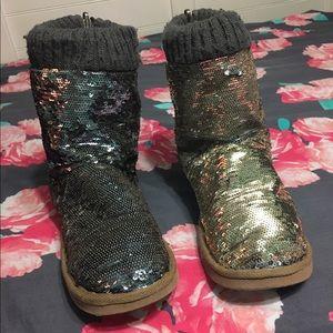 Victoria's Secret Pink sparkly boots