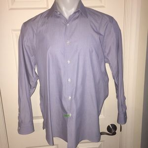John W. Nordstrom Other - John W. Nordstrom Blue Striped Button Down