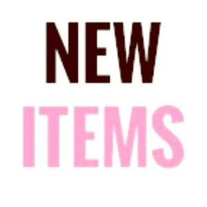 **New Items Posted**