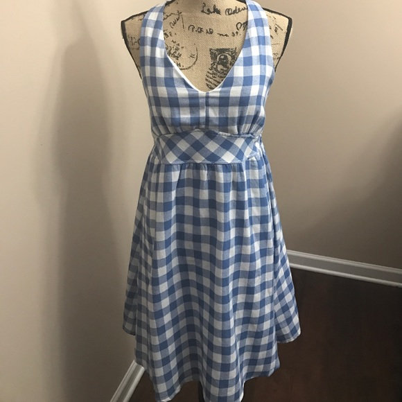 ec2f90a335 Dresses   Skirts - Final price Blue and White Checkered Dress