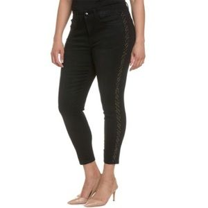 Melissa McCarthy Denim - Seven7 Plus Guardian Studded Pencil Leg