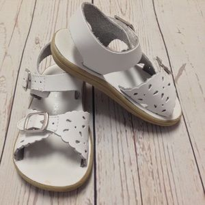 Jumping Jacks Other - {Jumping Jacks} White Sandals