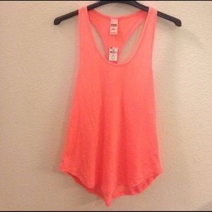 PINK Victoria's Secret Tops - NWT PINK Victoria's Secret racer back tank top