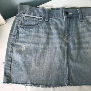 old navy denim skirt size 8 stretch