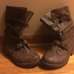 Madden Girl Shoes - Madden Girl Combat Style Boots