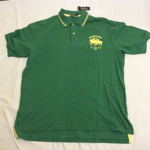 Polo By Ralph Lauren Shirts Ralph Lauren Polo Greenyellow Two