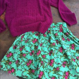 Classic Dresses & Skirts - Super cute floral mini skirt