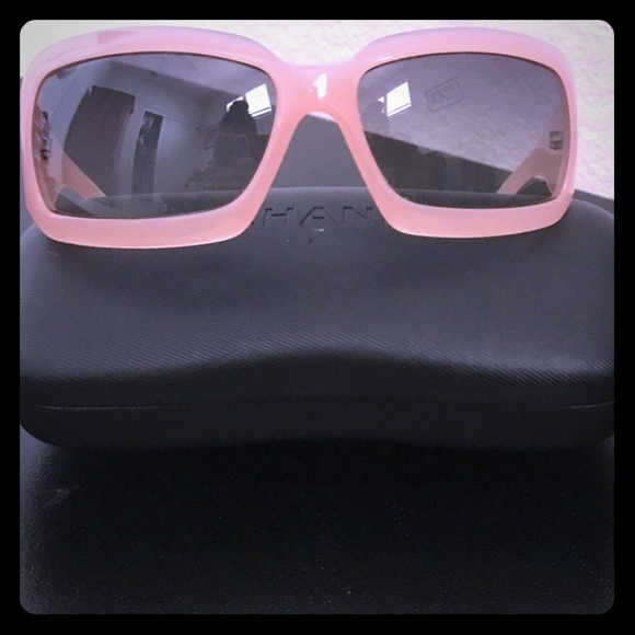 960b24aee6f65 CHANEL Accessories - CHANEL 5076-H PINK MOTHER OF PEARL SUNGLASSES