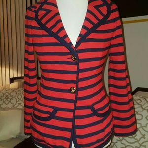 CAbi Jackets & Blazers - CABI STRIPED BLAZER