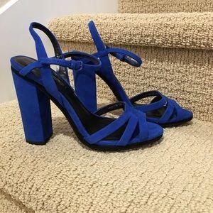 Zara Shoes - 💐❤👠👡 Unique Zara Woman Electric blue platforms