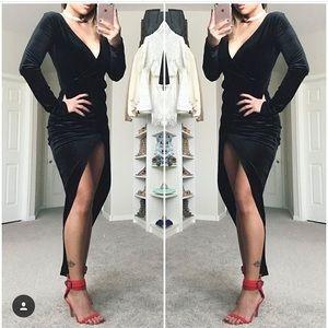 Dresses & Skirts - Velvet maxi dress
