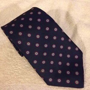 Van Heusen NWT Blue w/ Purple Check Tie