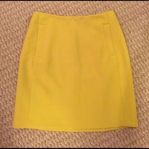 Yellow Skirt from Banana Republic